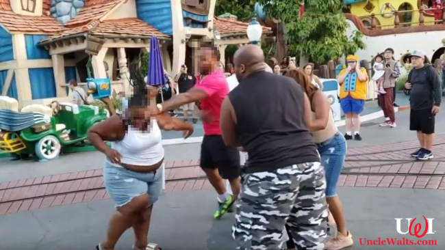 The first meeting of the Disneyland Fight Club. Photo from YouTube. Everywhere on YouTube.