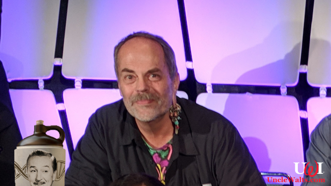 Imagineer Joe Rohde and his magic elixir. Photo by elisfkc [CC BY-SA 2.0] via Wikimedia.