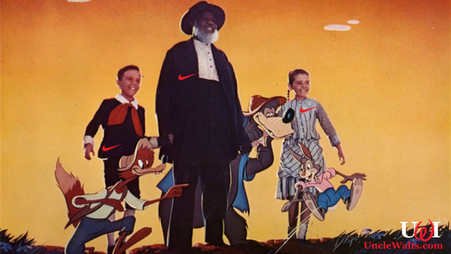 The cast of Song of the South, in their Nike gear. Photo courtesy Disney (the company).
