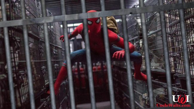 Spider-Man, being held in Vault Disney? Photo by Marvel & Disney via throughthesilverscreen.com.