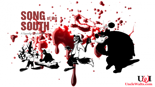 Promotional artwork for Quentin Tarantino's Song of the South.