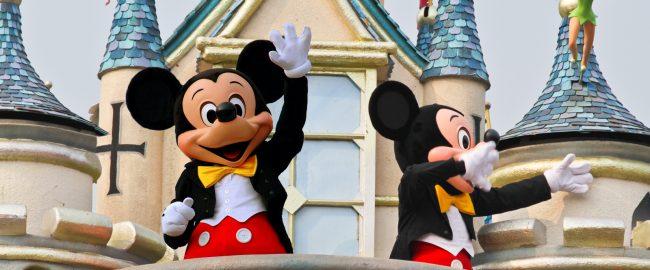 Multiple Mickeys in each Disney theme park! Photo via DepositPhotos.