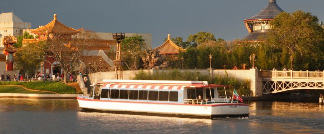 A newly Bahamian-registered Friendship boat at Epcot. Photo via DepositPhotos.
