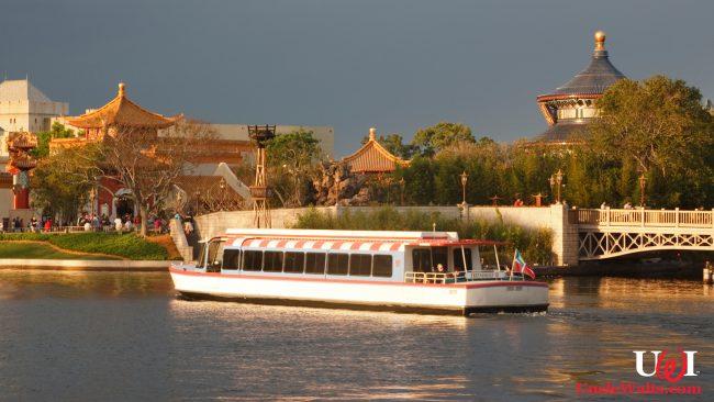 A newly Bahamian-registered Friendship boat at Epcot. Photo via DepositPhotos.