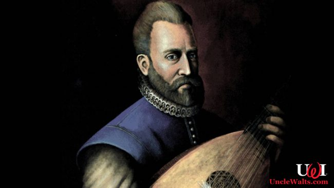 16th Century composer John Dowland, still scowling after his Disneyland ejection. Image courtesy lanazione.it.