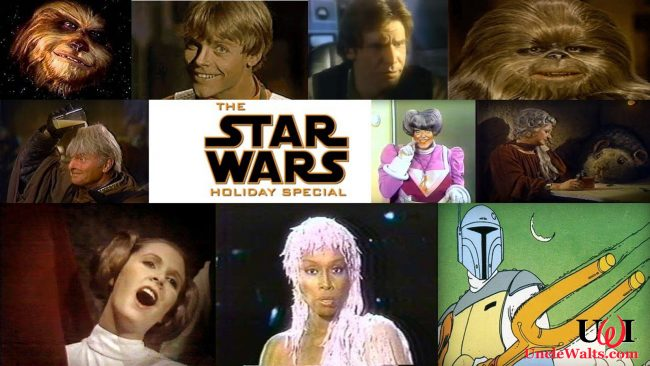 Without doubt, the best Star Wars holiday special ever. Collage by MixeD via YouTube.