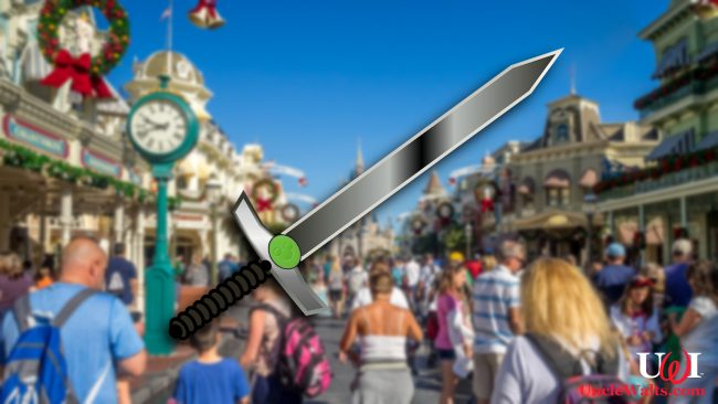 Just one version of multiple Magic Band Swords coming to Walt Disney World! Photo [CC0] via DepositPhotos and MaxPixel.