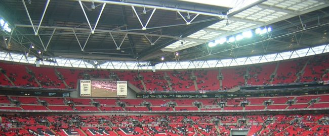 What Disney's new stadium will look like, if it looks like Wembley Stadium. Photo by agg_yy [CC BY 2.0] via Flickr.