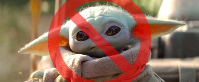 Farewell, Baby Yoda. We barely knew ye. Photo © 2019 Disney.