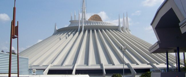 Space Hill at Disney's Magic Kingdom Park. Photo by Evan Wohrman [CC BY-SA 2.0] via Flickr.