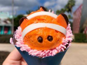 Biting Nemo: the Cupcake. Photo source: wdwnt.com.