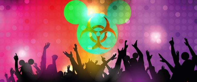 A promotional graphic for DIsney's new Coronavirus Dance Parties. Photo [CC0] via Pixabay.