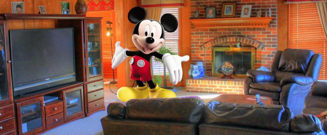 Creating Disney Parks at home; or, stay home long enough, and you'll start hallucinating Mickey too!