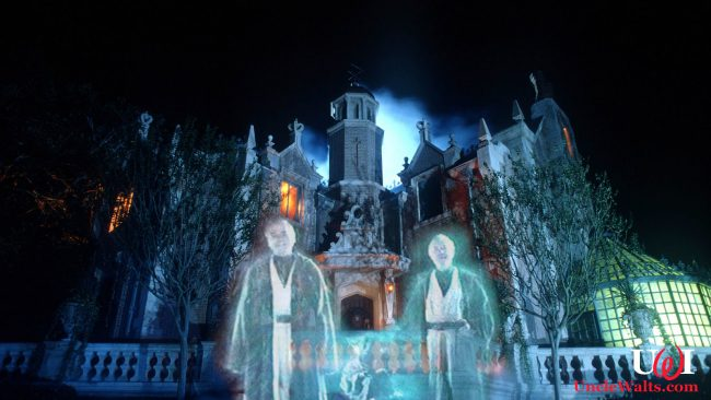 The new Haunted Mansion Star Wars Overlay! Photo by MMcF [CC BY-SA] via The Haunted Mansion Wiki.