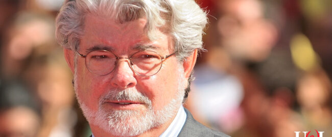 COVID I, II, & III writer-director George Lucas. Photo by Nicolas Genin [CC BY-SA 2.0] via Wikimedia.