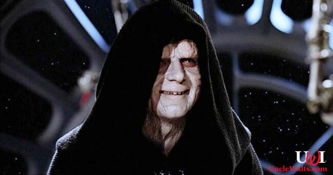 Emperor Palpatine, before he died. We think. Photo © Lucasfilm.