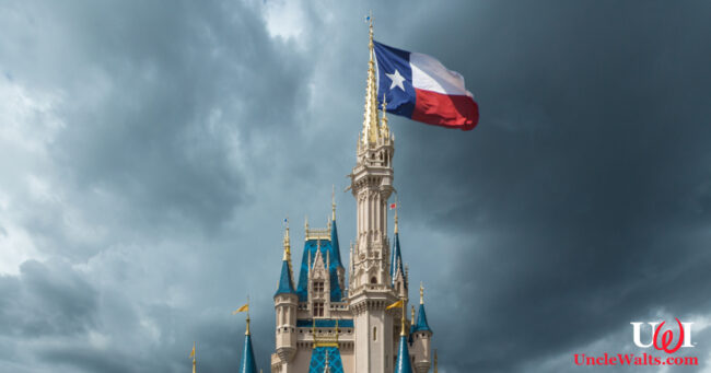 Maybe they'll also make Sleeping Beauty Castle look like Cinderella Castle with a Texas flag; or, the media guy was too lazy to create a new image and just reused one from a 2017 article. Photo by depositphotos.com.