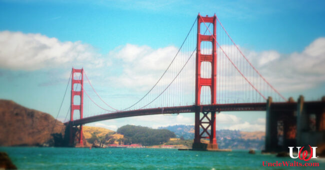The Golden Gate Bridge, Texas-bound? Photo by Prabhanjankumarnandyala [CC BY-SA 4.0] via Wikimedia.