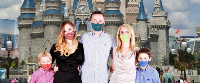 New spray-on painted face masks at Walt Disney World. Photo [CC0] courtesy of pxhere.com & pxfuel.com.