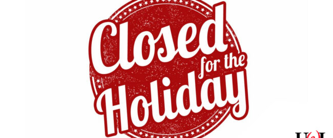 UWI is closed for the holiday