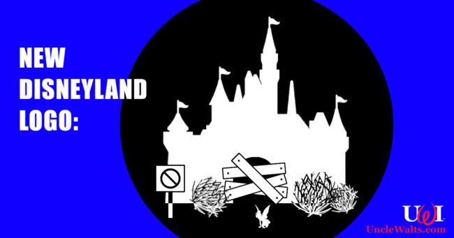 New Disneyland logo. © 2021 Disney. Maybe.