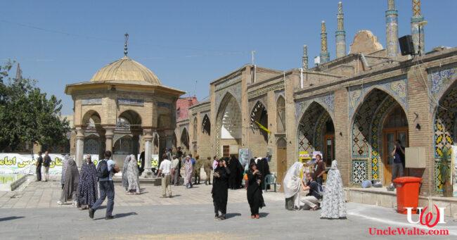 Epcot's Iran Pavilion, pictured before tomorrow's air strike. Photo by Alen Ištoković [CC BY 3.0] via Wikimedia Commons.