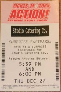 Studio Catering Co Fastpass