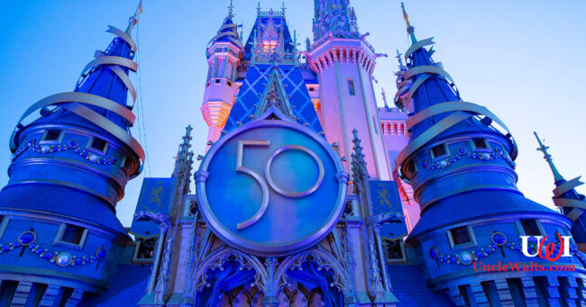 Flavor Flav's favorite castle. Photo © 2021 Disney.