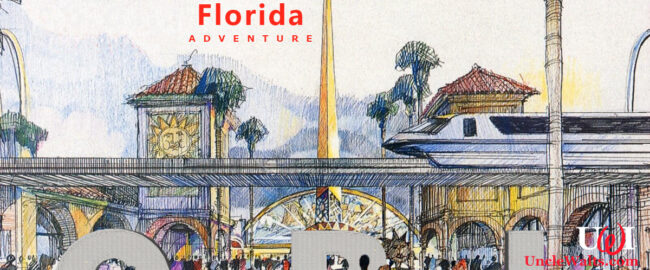 Concept art -- very familiar-looking concept art -- for the new Disney's Florida Adventure theme park and spa. Image © Disney.